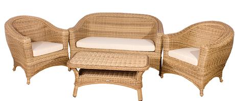 Bahama Rattan Sofa Set by Cozy Bay