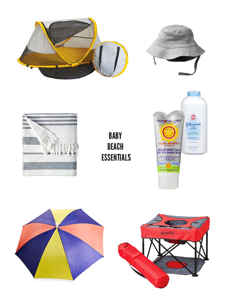 Beach Day Essentials For A Baby