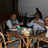 With Kalyan and Mr. Srinivas at Coringa