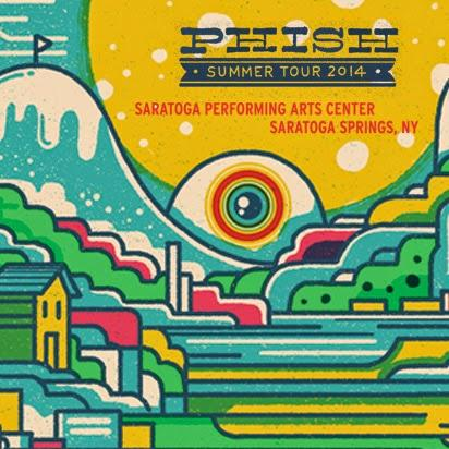Phish: Live Webcast of 3-Night run in Saratoga Springs  (July 3-5)