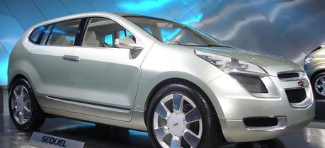 The Chevrolet Sequel is a purpose-built hydrogen fuel cell-powered concept SUV developed by General Motors in 2006.