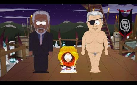 Morgan Freeman South Park