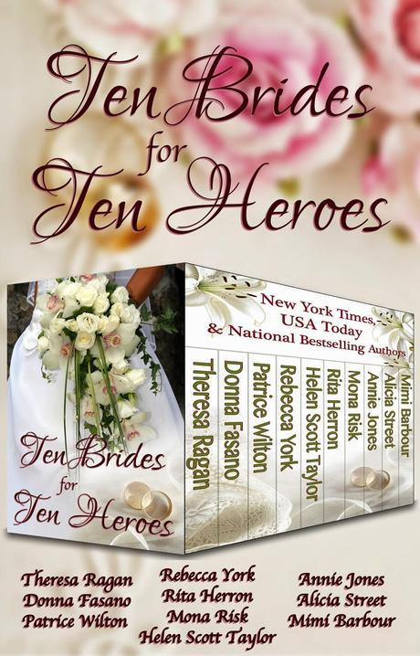 TEN BRIDES FOR TEN HEROES -VARIOUS AUTHORS- SUPER BOOK BLAST +GIVEAWAY