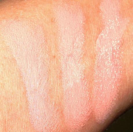 Barry M Lip Paint Peach Swatches