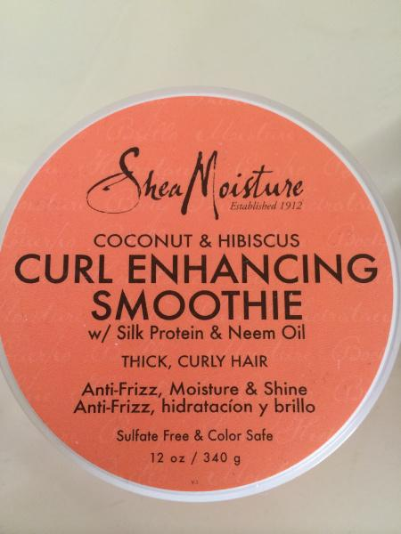 hair curl smoothie cream