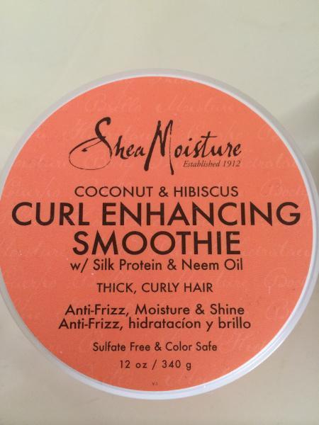 hair curl smoothie cream