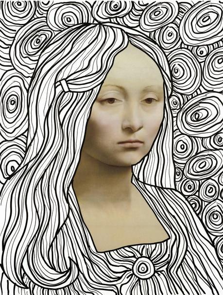 Leonardo Line Drawing Template Paperblog