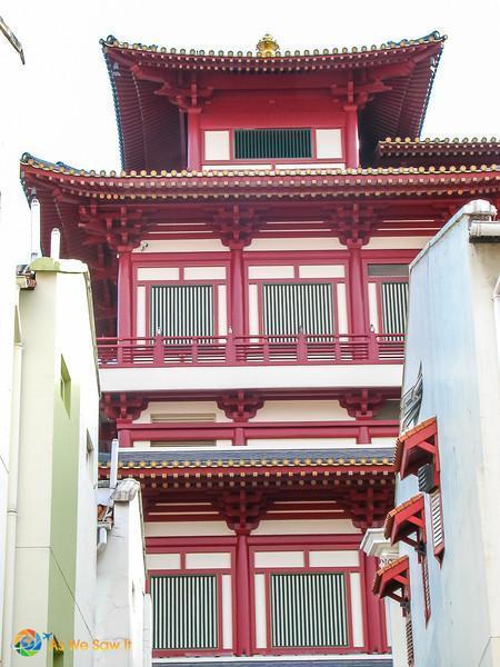 Singapore 0448 L Fantastic Singapore Architecture: Buddha Tooth Relic Temple