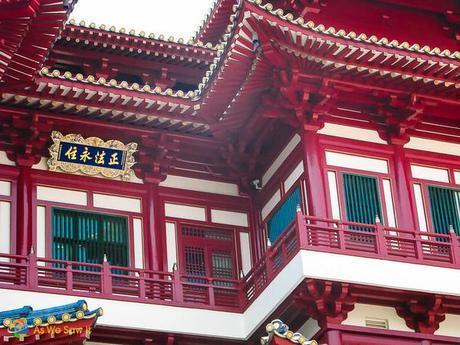 Singapore 0377 M Fantastic Singapore Architecture: Buddha Tooth Relic Temple