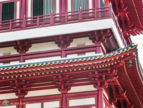 Singapore 0375 L Fantastic Singapore Architecture: Buddha Tooth Relic Temple