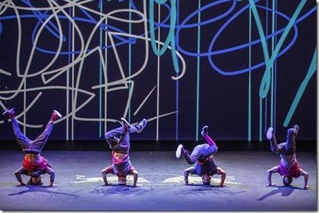 Review: Red Bull Flying Bach (Flying Steps at Civic Opera House)