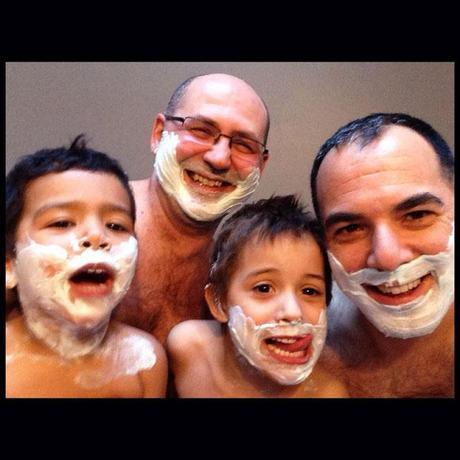 Gay Dads Are Awesome! - shaving