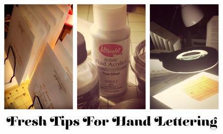 6 Fresh Tips for Hand Lettering