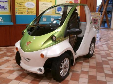 Toyota COMS ultra-compact electric vehicle