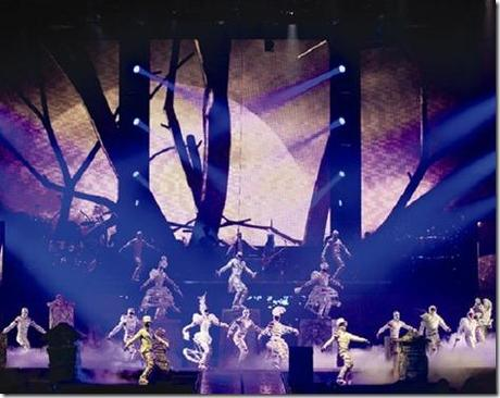 "Cirque du Soleil presents ""Michael Jackson: The Immortal Tour"""