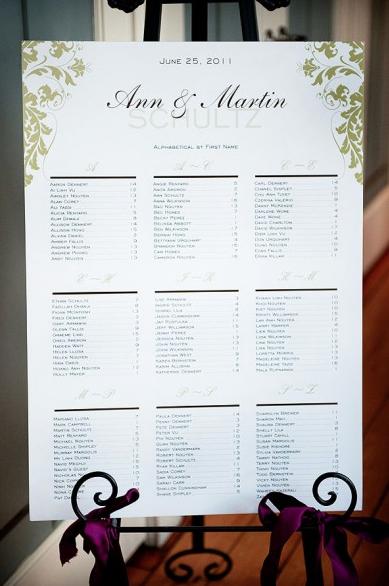 Wedding Seating Chart F.A.Q. - Paperblog