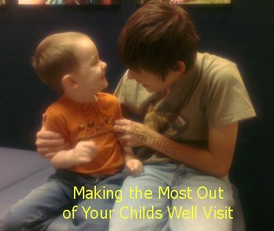 Making the Most Out of Your Childs Well Visit