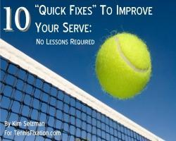 How To Serve Into The Sun – Tennis Quick Tips Podcast 45