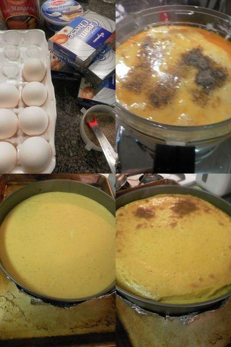 Mango cheesecake-collage2