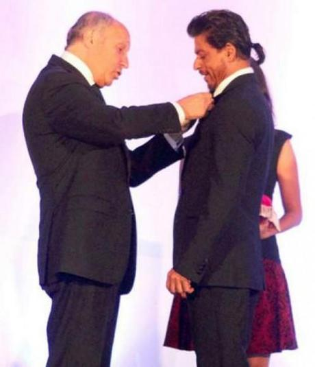 Shah Rukh Khan Honoured With France's Highest Honour