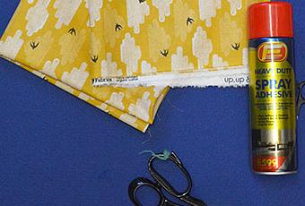 How To Cover A Notice Board In Fabric Paperblog