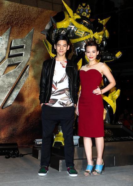 teresa daley and austin lin premier of transformers womens fashion mens fashion celebrity fashion