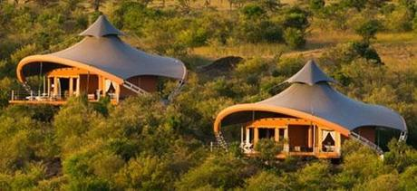 Eco camp in Kenya
