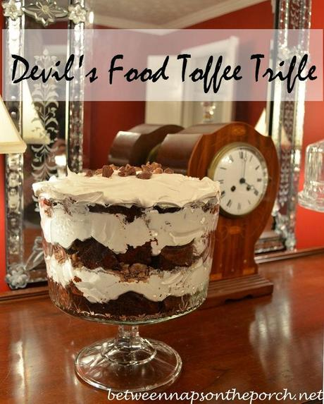 Devil's Food Toffee Trifle