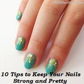 10 Tips to Keep Your Nails Strong and Pretty - Paperblog