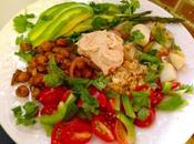 Chickpeas Roasted Veggie Salad