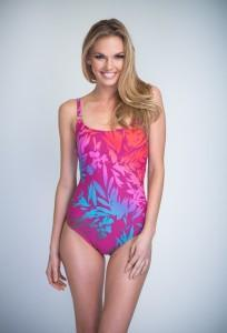 One-piece bathing suit for women