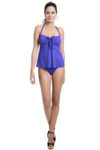 Purple Tankini Bathing suit by Cole Of California