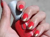 NOTD Bright Summer Manicure with ORLY Terracotta, Luxe Rage