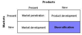 Diversification (marketing strategy)