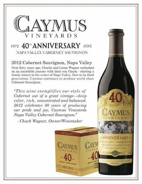 Caymus Vineyards 40th Anniversary