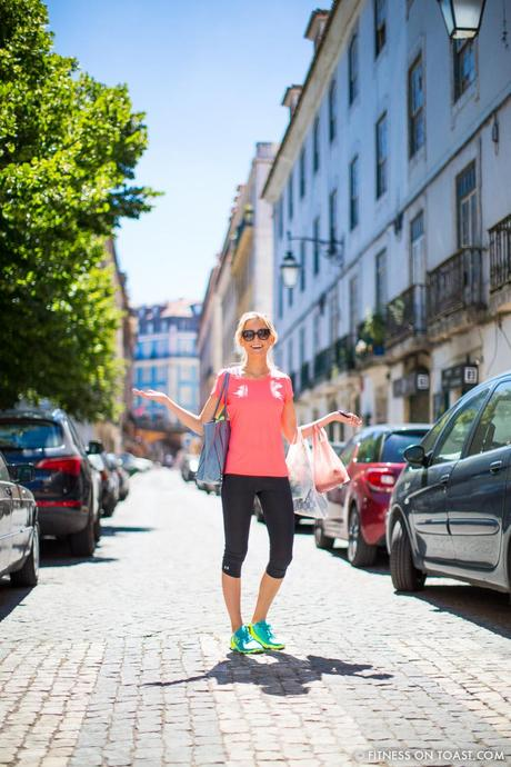 Fitness on Toast Faya Blog Girl Healthy Workout Trip O2 Travel Tariff World Portugal Lisbon Cascais Yoga Hike Bridge Bike Under Armour Speedform Shoes Outfit OOTD WIWT Fashion Blog Post Healthy Recipe Cooking-3
