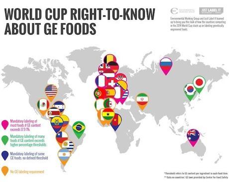 World Cup Right to Know about GE Foods