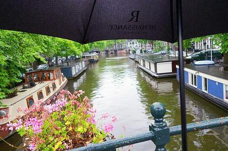 Amsterdam in the rain