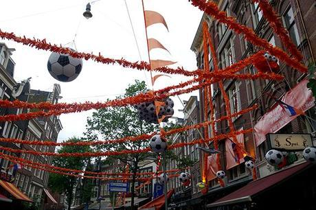 World cup celebrations, Amsterdam