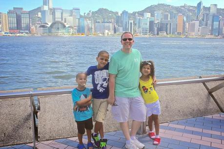 HONG KONG WITH THE FAMILY
