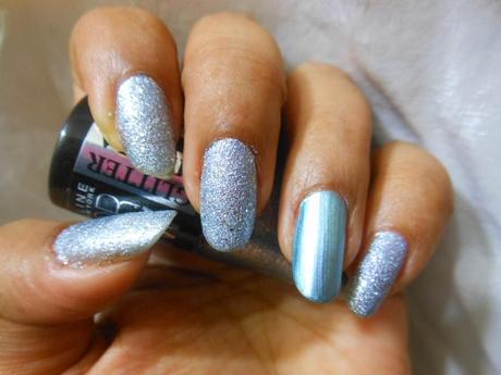 Blingy Blingy Blue Nails from Maybelline!!