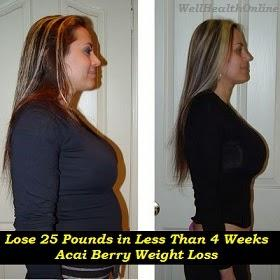 Lose 25 Pounds in Less Than 4 Weeks