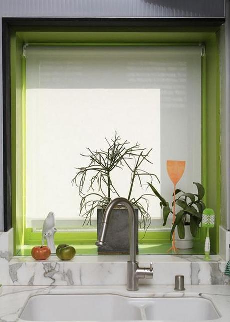 green-window-casing-kitchen-sink