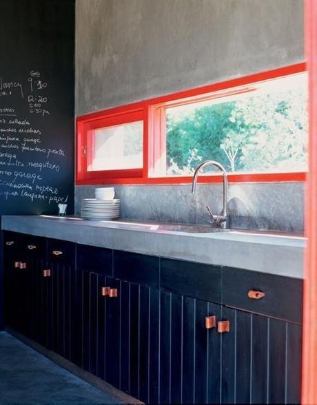 orange-window-trim-in-kitchen