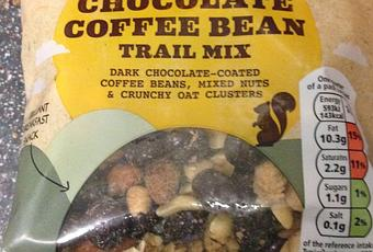Todays Review Tesco Chocolate Coffee Bean Trail Mix
