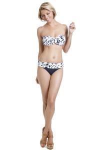 Daisy Twist Bandeau Bikini by Anne Cole