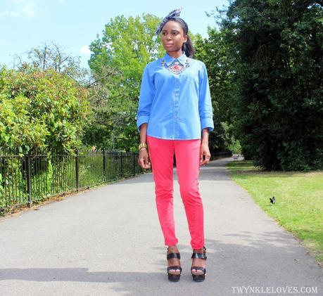 Today I'm Wearing: Colour Clogging