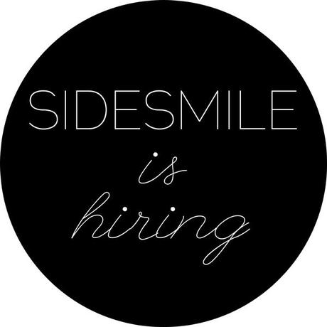 SIDESMILE IS HIRING