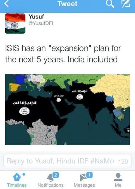 ISIS 5-year expansion plan. Parts of Europe are not included on this one.