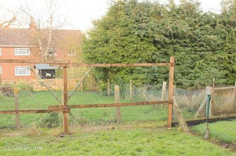 Garden makeover - new fence -2